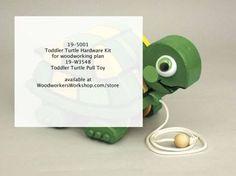 19-5001 - Zestaw sprzętu dla malucha Turtle Pull Toy