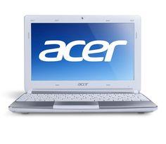 """ACER Aspire One AOD270 Intel Atom N2600 1.6GHZ 2GB 500GB 10.1"""" Netbook Beyaz"""
