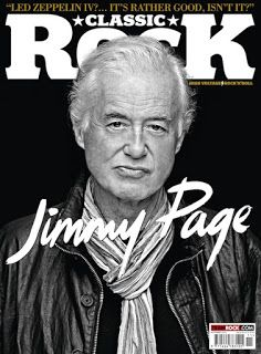 MAGE MUSIC: On This Day 19 October 2014 Jimmy Page on cover of November Classic Rock Magazine (Ross Halfin photo www.rosshalfin.com)