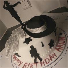 Michael Jackson cake. Vanilla cake filled with chantilly cream and praline walnuts