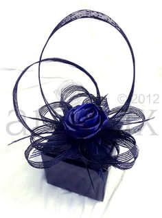 Artiflax - the store - black and blue flax flower centrepieces