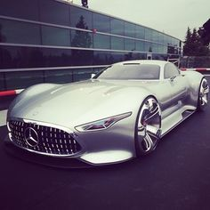The new Mercedes AMG Vision Grand Turismo concept car at the Mercedes Benz design facility right outside San Jose, California