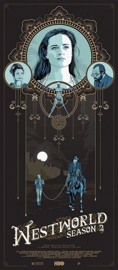 Westworld Season 2 poster by Jason Pooley : westworld