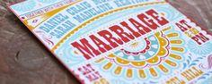 Invitaciones de boda inspiracion mexicana | Espacio Novias