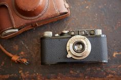 Robert Capa's Leica. The best war photographer ever. He died doing what he loved.