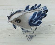 Fabricollage: Fabric birds - wonderfully whimsical