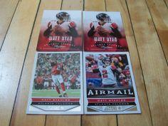 MATT RYAN 2013 Panini Prestige Score (4) Card Lot Atlanta Falcons Quarterback