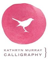 Kathryn Murray Calligraphy Logo..