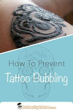 Tattoo bubbling happens during the healing process & can easily ruin a tattoo if you're not careful. We explain how to treat & prevent tattoo bubbling here. Cover Up Tattoos, Body Art Tattoos, New Tattoos, Female Tattoos, White Tattoos, Mouse Tattoos, Ankle Tattoos, Arrow Tattoos, Forearm Tattoos