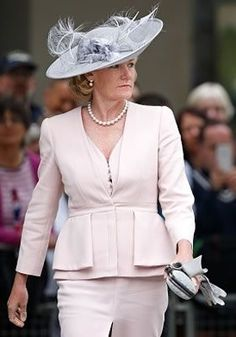 Browse our gallery of our clients wearing bespoke Rachel Trevor Morgan hats and headpieces to weddings, racing events, investitures to name a few! Headdress, Headpiece, Rachel Trevor Morgan, Racing Events, Saint James, Derby Hats, Kentucky Derby, Fascinator, Peplum Dress