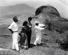 Dev Anand on location