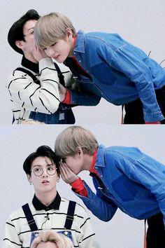VKOOK ♡ JUNGKOOK × TAEHUYNG || BTS #vkook #taekook