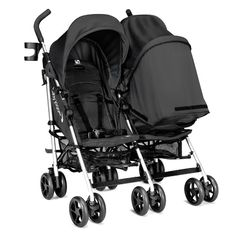 Baby Jogger Vue Double Stroller - Black  #Stroller #Twin #Baby