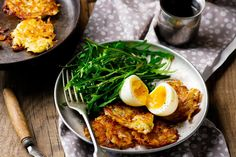 Eggs With Potato Rosti and Rocket | Kayla Itsines | Bloglovin'