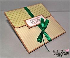 Beky Scrap: Cd Box (caja para entregar Cd)