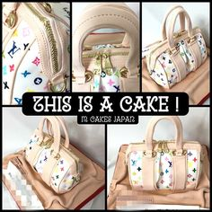 鞄🍰 #bagcake #bag #sweets #sugar #fondantcake  #誕生日ケーキ #ケーキ #fashion #sugarart #edible #Japan