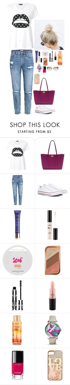 """""""Untitled #1831"""" by azra-99 on Polyvore featuring Markus Lupfer, Mulberry, H&M, Converse, Guerlain, NYX, Maybelline, Rimmel, Givenchy and MAC Cosmetics"""
