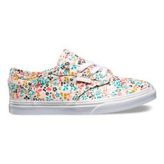 Kids Floral Atwood Low Shoes