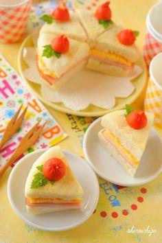 Fake Shortcake muffin sandwich