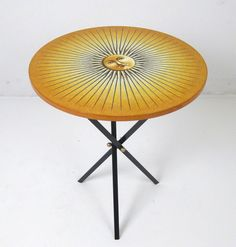 AreaNeo | Demountable Coffe Table Model Sun - Lauritz.com | Düsseldorf - Piero Fornasetti - Fornasetti - Sun Table