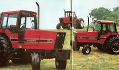 From 35 years ago.International IH 5288, 5088, and 5488 Tractors