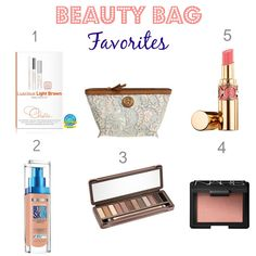 Daily makeup staples perfect for day and night looks!