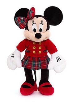 Disney Minnie Mouse Medium Festive Soft Toy (Official)  | eBay
