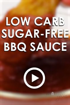 Low Carb Sugar-Free BBQ Sauce by Wholesome Yum. This keto low carb BBQ sauce recipe is sweet, smoky, spicy & tangy in one. If you want a super easy, sugar-free barbecue sauce that tastes delicious, this is it. Only 5 minutes prep time! Pin made by GetSnac Sugar Free Bbq Sauce Recipe, Sugar Free Barbecue Sauce, Easy Bbq Sauce, Homemade Bbq Sauce Recipe, Low Carb Bbq Sauce, Barbecue Sauce Recipes, Grilling Recipes, Vegan Grilling, Pork Barbecue