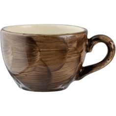 Чашка кофейная «Пепперкорн»; фарфор; 85мл; D=6.5,H=5,L=8.5см; коричнев.,бежев. | Steelite
