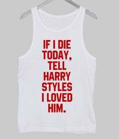 harry styles Tank Top #tanktop  #top  #tees  #graphicshirt  #tops  #clothing #funnyshirt