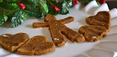Paleo Gingerbread Cookies... may work with chia or flax eggs! :)