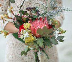 Protea Venus, Kangaroo Paw and Wild Flowers