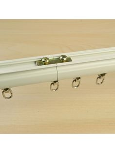 The connector will connect two tracks like one track and it is not visible. Metal and plastic roller sliders smoothly no matter whether the connection track. Best choice for large window which curtain track needs been cut. Custom Made Curtains, Large Windows, Bay Window, Wall Mount, Track, Hardware, Ceiling, Metal, Things To Sell