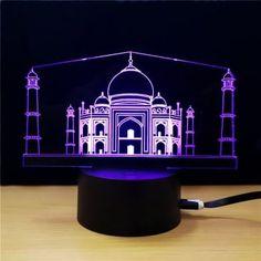 M.Sparkling TD310 Creative Buliding 3D LED Lamp