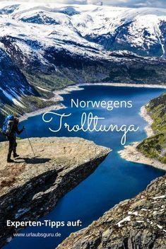 Seid ihr mutig genug für Norwegens Trolltunga? Dann holt euch exklusive Tipps für die Wanderung!