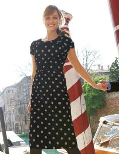 polka dots - when you're not sure what to wear, polka dots are a great option