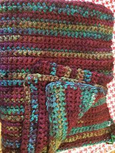 2/3 blankets Complete - Crochet creation by MandaPanda...love the yarn