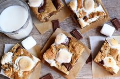 S'more Bars | Tasty Kitchen: A Happy Recipe Community! http://tastykitchen.com/recipes/desserts/se28099more-bars-4/