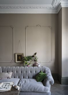 Expect some new adjectives to enter your colour vocabulary, because Farrow & Ball is adding nine new paint shades. Farrow & Ball new colours. Farrow Ball, Farrow And Ball Paint, Farrow And Ball Living Room, New Paint Colors, Wall Colors, House Colors, Room Colors, Free Wallpaper Samples, Ideas