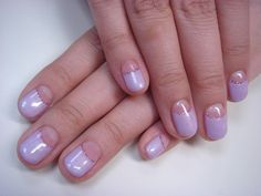 light purple nails Happy Nails, My Nails, Light Purple Nails, Nail Colour, Color, Beauty Tips, Beauty Hacks, Nail Polish Brands, Creations