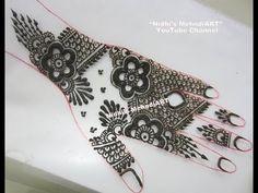 YouTube #flower #khaleeji #gulf #henna #mehndi #design #tutorial