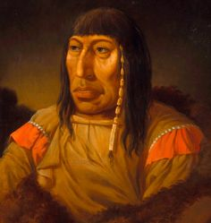 Wahhejoetasseneen (Uomo Mezzo Bianco), Capo in Seconda degli Assiniboin, incontrato a Rocky Mountain House.