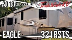 2018 Jayco Eagle 321RSTS Fifth Wheel RV For Sale Tradewinds RV Center Shop 2018 Eagle 321RSTS and check out our huge online selection now at or call TradeWinds RV at 810-547-5965!  This glorious 2018 Eagle 321RSTS fifth wheel offers