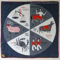Wheel of the Zodiac II, Gray