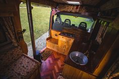 Asha is available to hire from Quirky Campers.