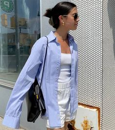9 Comfortable Summer Outfits That Are So Simple to Throw On | Who What Wear Comfortable Summer Outfits, Simple Summer Outfits, Spring Outfits, Summer Ootd, Outfit Summer, Indie Outfits, Cute Casual Outfits, Fashion Outfits, Womens Fashion
