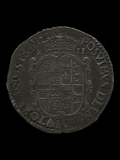 Shilling. Mary and Philip. Verso