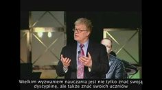 Nauczyciele są jak ogrodnicy - Sir Ken Robinson Ken Robinson, Ted, Videos, Teacher, Education, Youtube, Fictional Characters, Research, Language