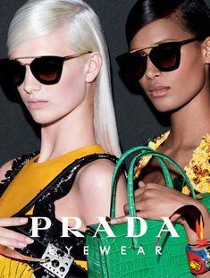 PHOTOS - Cindy a décroché la dernière campagne Prada Eyewear spring/summer Prada Sunglasses, Sunglasses Accessories, Sunglasses Women, Mc Hair, University Style, Rose Colored Glasses, Victoria, 2014 Trends, Her Style