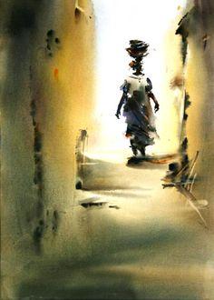 Китайский художник Cao Bei-an